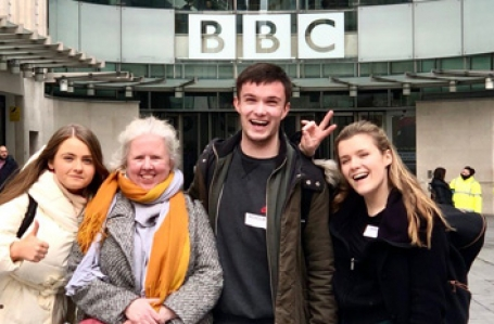 Commendations from the BBC for our Carleton Hobbs finalists