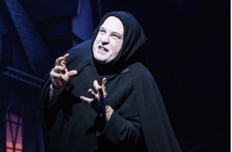 Cory English stars in Young Frankenstein