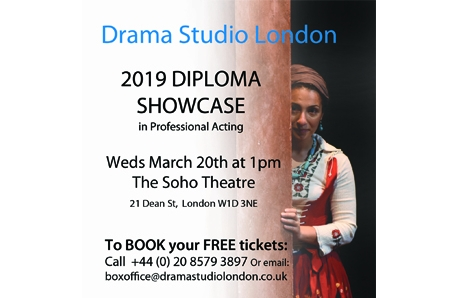 Diploma Graduate lunchtime SHOWCASE at The Soho Theatre