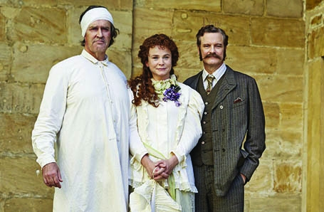 EMILY WATSON stars as Regan in the BBC's KING LEAR and in THE HAPPY PRINCE with Rupert Everett